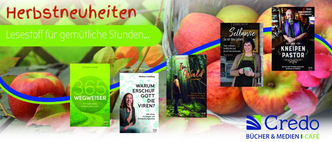 Werbung Credo Herbst 2021