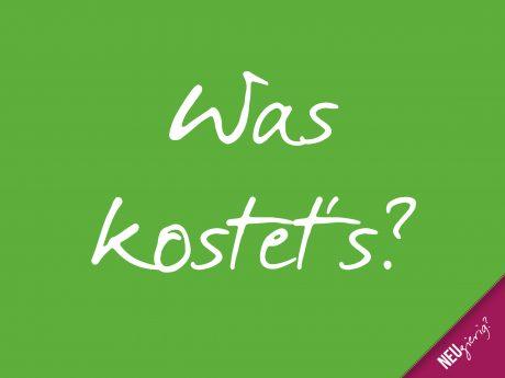 Basic-Training: 5. Was kostet's?