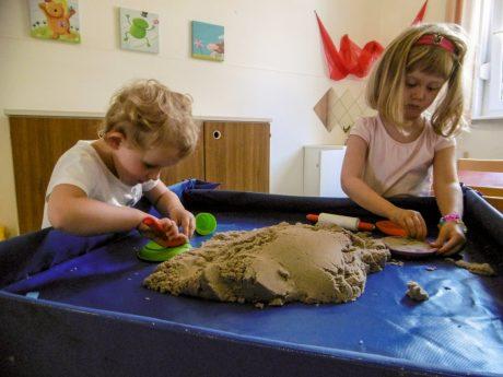 Kita Villingen Spielen Mit Sand