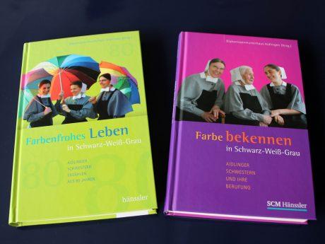 Buchcover farbenfrohes Leben