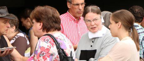 2016 Schwester Christine im Gespräch