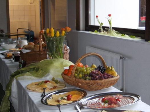 Frauenfrühstück 2016 Buffet