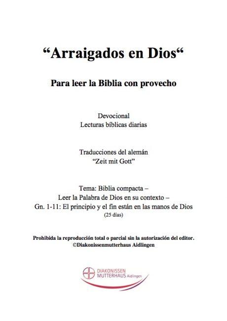 Zeit mit Gott - Biblia Compacta Cover
