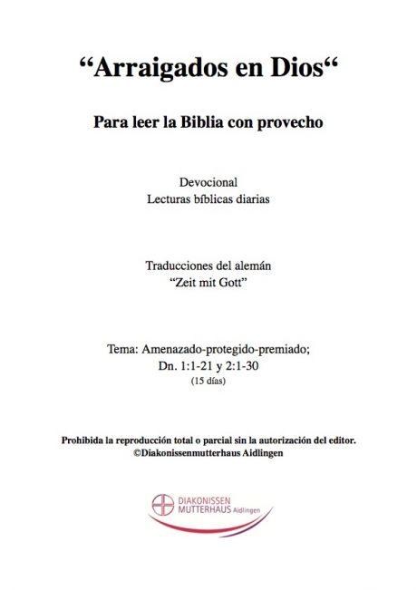 Zeit mit Gott: El Libro De Daniel Cover