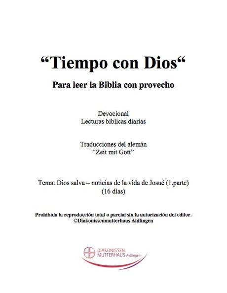 Zeit mit Gott: Noticias De La Vida De Josue Cover
