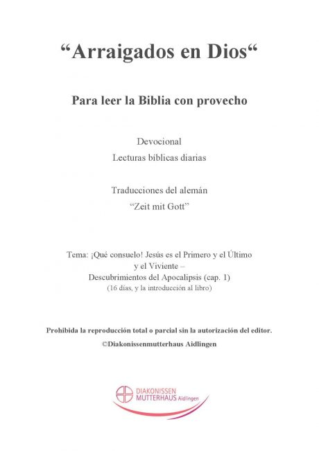 Zeit mit Gott: El Apocalipsis de Juan