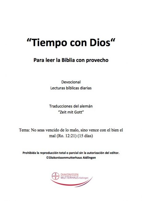 Zeit Mit Gott: Cartas Del Apóstol Pablo Cover