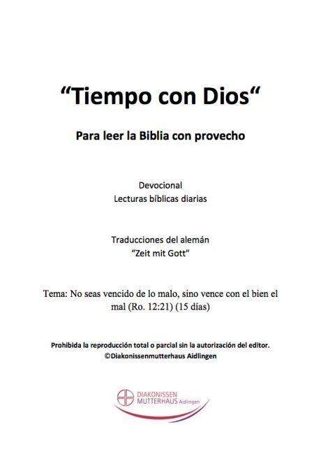 Zeit Mit Gott: Los Hechos De Los Apóstoles Cover