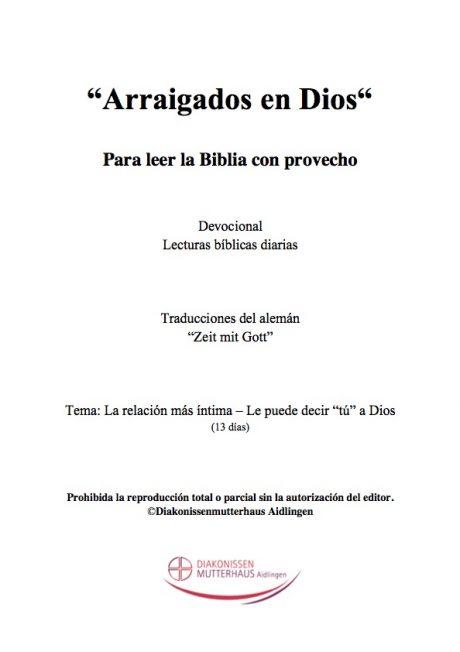 Zeit Mit Gott: Vida Cristiana Cover